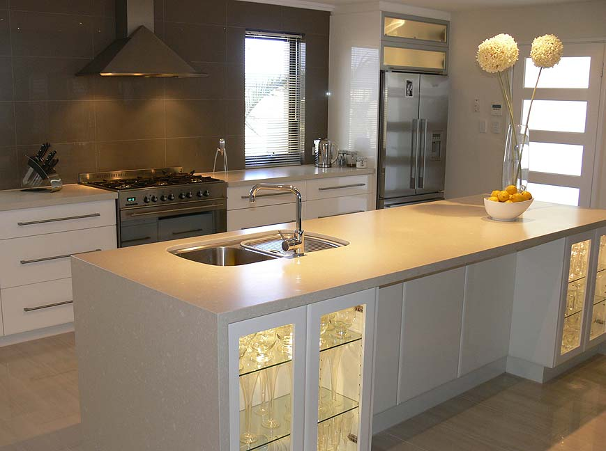 Burns Beach Modern Kitchen New Build Design Perth - Kitchen Switch