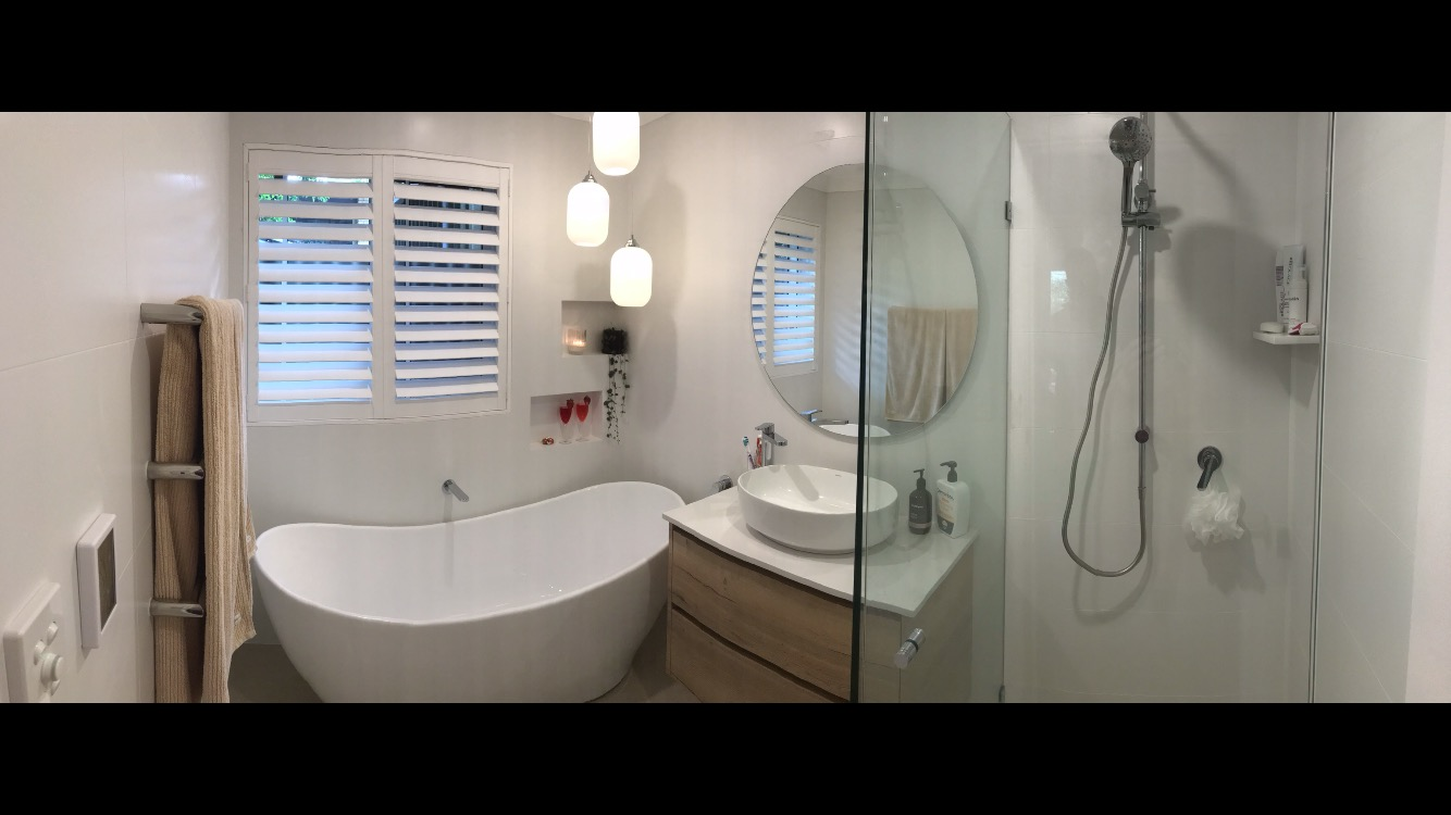 Duncraig Ensuite Bathroom Renovation Project Before Image - Kitchen Switch Perth